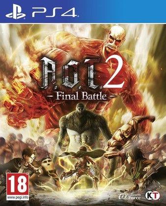 Attack on Titan 2 Final Battle PS4-DUPLEX