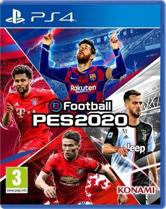 eFootball PES 2020 PS4-Playable