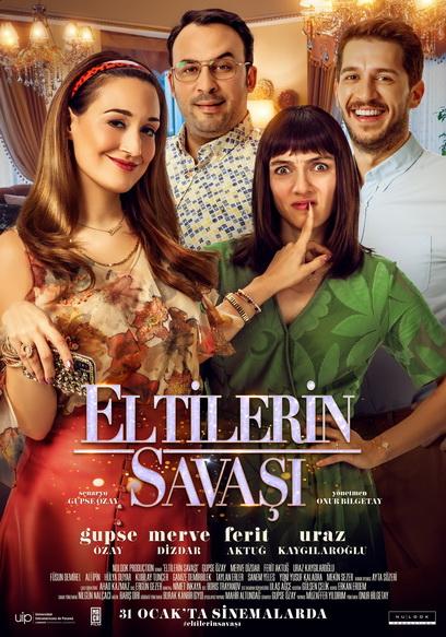 Eltilerin Savaşı - 2020 - 1080p - WEB-DL - Romantik, Komedi - Yerli - Sansürsüz