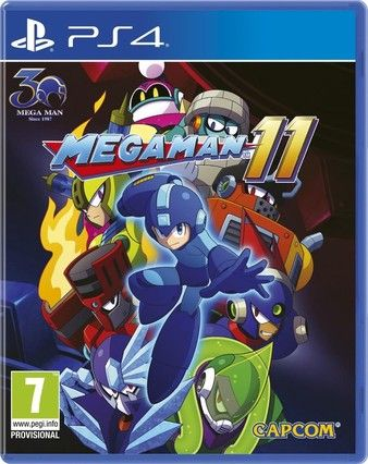 Mega Man 11 PS4-Playable