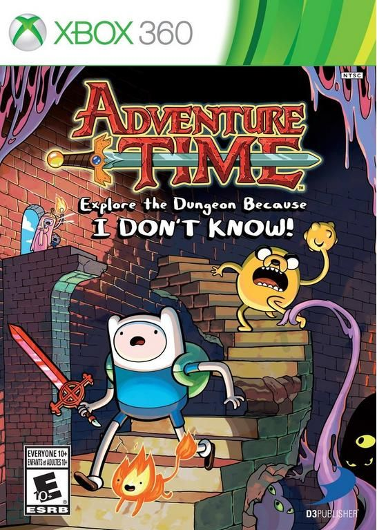 Adventure Time Explore The Dungeon Because I DONT KNOW - XBOX360