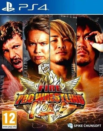 Fire Pro Wrestling World PS4-Playable