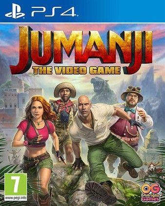 Jumanji The Video Game PS4-DUPLEX