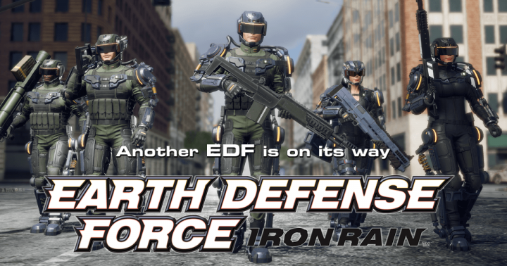 EARTH DEFENSE FORCE IRON RAIN - 2019 - CODEX