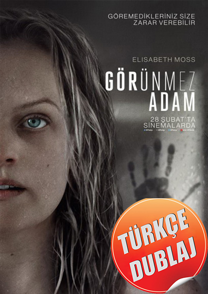 Görünmez Adam - The Invisible Man 2020 m1080p BluRay Gizem, Bilim-Kurgu, DuaL OpeD