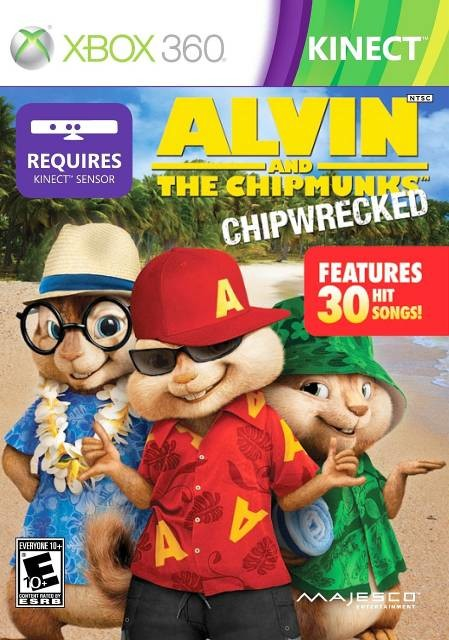 Alvin And The Chipmunks Chipwrecked - XBOX360