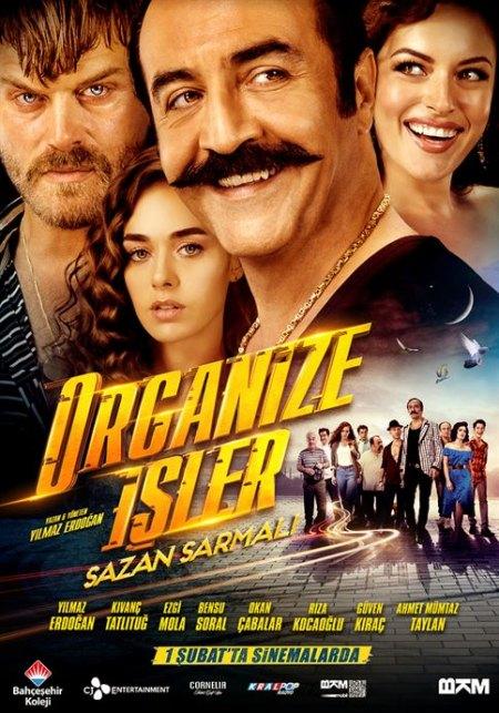 Organize Isler 2: Sazan Sarmali - 2019 - 1080p WEB-DL - Komedi - Yerli Film