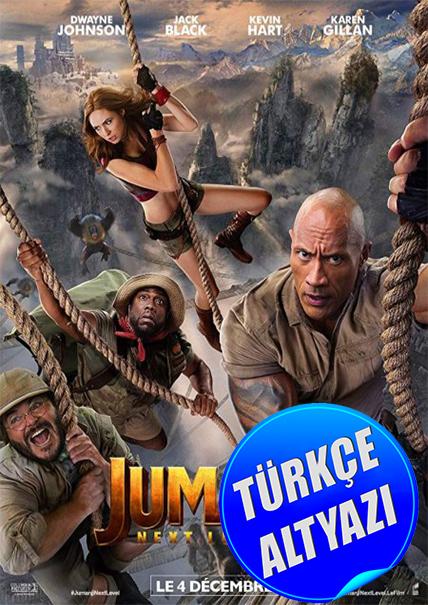 Jumanji: Yeni Seviye - 2019 - HC HDRip - Aksiyon, Macera, Komedi - TR Altyazı
